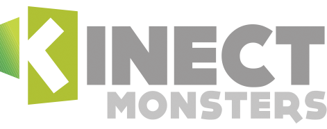 Kinect MONSTERS  - Kinect SKILL GAMES @kinectfordevelopers.com